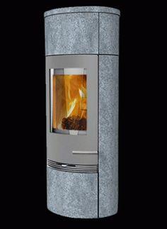 Kaminofen Termatech TT20 RS Heat Storage grau