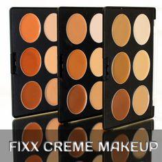 Fixx Crème Makeup - Pans Kett Cosmetics : High Definition Airbrush Makeup : Makeup for the Digital Age