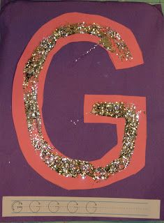 Alphabet Play - G is for Glitter | momstown Hamilton