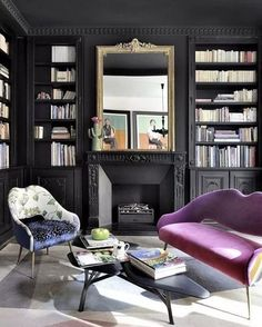 Classy and cute interior wall design for living room 00034 Living Room Inspiration, Interior Inspiration, Design Inspiration, Design Ideas, Interior Walls, Interior Design, Dark Blue Living Room, Bohemian Style Bedrooms, Living Room Bedroom