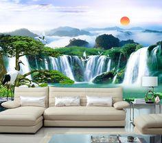 paisajes para pintar en una pared - Buscar con Google