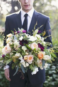 I like the shape of this bouquet