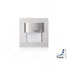 Éclairage mural LED Tango Mini dans un boîtier en acier inoxydable sert à éclairer les couloirs, les escaliers, les murs ou les vitrines de meubles.  Les lumières modernes LED utilisent peu d'énergie et peuvent être exploités longtemps sans coûts d'exploitation élevés. Grâce à la technologie LED très peu de chaleur est délivrée pendant le fonctionnement. Cette lampe peut être montée directement sur des matériaux hautement inflammables tels que des panneaux de meubles ou éléments en bois.