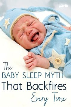 Do you have a baby with trouble sleeping? This is a common myth and misperception to help babies sleep better that actually backfires!