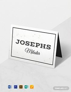 Instantly Download Free D&U Wedding Place Card Template, Sample & Example in Microsoft Word (DOC), Adobe Photoshop (PSD), Adobe InDesign (INDD & IDML), Apple Pages, Adobe Illustrator (AI), Microsoft Publisher Format. Available in 2.25x3.5 inches + Bleed. Quickly Customize. Easily Editable & Printable.