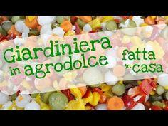 GIARDINIERA DI VERDURE IN AGRODOLCE FATTA IN CASA DA BENEDETTA - YouTube