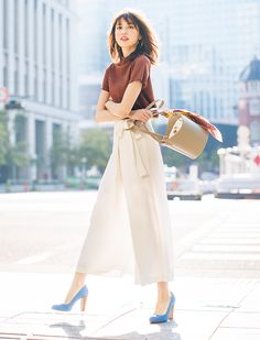 Best Outfits For Women Over 50 - Fashion Trends 50 Fashion, Japan Fashion, Office Fashion, Work Fashion, Curvy Fashion, Korean Fashion, Fashion Outfits, Womens Fashion, Cheap Fashion