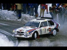 Lancia Delta S4 - Rally Montecarlo 1986 - with pure engine sounds