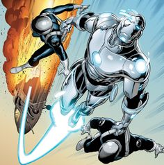 "marvel-dc-art: Superior Iron Man #3 - ""Man of Vision"" (2014)pencil by Yildiray Cinar / ink by Yidiray Cinar, Ruy Jose, & Juan Velasco"