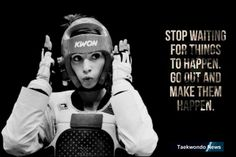 Arts And Crafts Movement Taekwondo Quotes, Taekwondo Girl, Kickboxing Quotes, Martial Arts Quotes, Bruce Lee Quotes, Lose Lower Belly Fat, Done Quotes, Believe, Sports Pictures