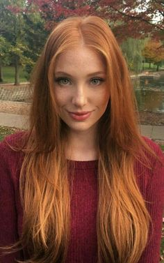 Madeline Ford - Dierk van den Hövel You are in the right place about red hair blue eyes Here we offe Beautiful Red Hair, Beautiful Eyes, Pretty Hair, Red Hair Woman, Lady Hair, I Love Redheads, Actrices Sexy, Long Red Hair, Natural Red Hair