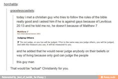 I agree. I don't believe a loving god would condemn a person to hell just because they were attracted to a person of the same gender. I think god is merciful and understanding. Religious extremests ruin christianity's real meaning, just the same as how some gay extremests ruin it for them.