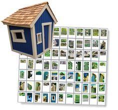 Childrens wonky playhouse plans :-)