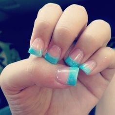 #tips #seafoamgreen #frenchtip