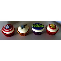 Avengers cupcakes ...seem more realistically doable...if that made sense lol