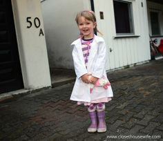Doc McStuffins lab coat tutorial (ie, guidelines on how to alter a collared shirt pattern, but whatever)