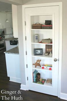 8 ways your pantry door is failing you and what to do about it, closet, doors, Photo via Doris JG Ginger and the Huth