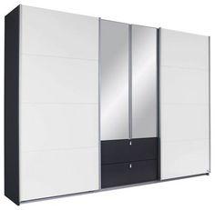 Best Kleiderschrank in Schwarz und Wei der stylische Ordnungshelfer Tage R ckgaberecht Jetzt online bei m max bestellen
