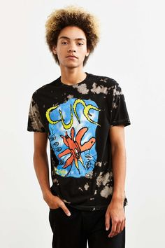 The Cure Bleached Tee - Urban Outfitters