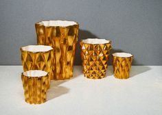 enSoie ceramic collection in gold