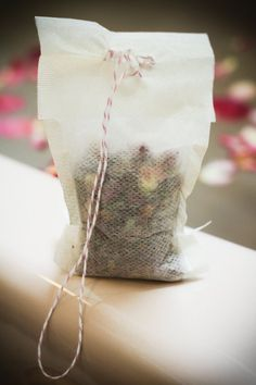 Rose Petal & Salt Bath Tea // Organic Bath // by GardenApothecary, $4.00