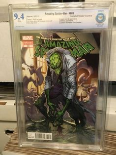 Amazing #spider man #688 rare 1:50 #campbell #variant cbcs 9.4 cgc,  View more on the LINK: http://www.zeppy.io/product/gb/2/142019347919/