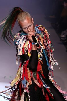 Bas Kosters at Fashion mutant show