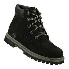 Skechers Lumberjack Pre/Grd Boots (Black) - Kids' Boots - 13.5 M