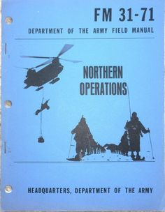 Military Book - Northern Operations - January 1963  - Paperback - Used