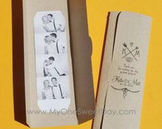 Photo stand Photo-Strip photo titulaires Party Favor par MySweetDay