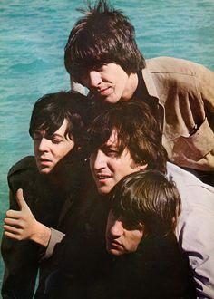 The Beatles  l'intérieur du Jardin Secret: Photo