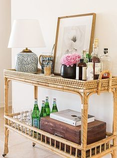 Perfectly Styled Bar Cart