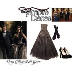 """Elena Gilbert Ball Gown (Vampire Diaries)"" by maddienorthern on Polyvore"