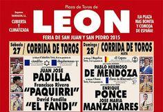 torodigital: Doble cartel de lujo para la Feria Taurina de San...