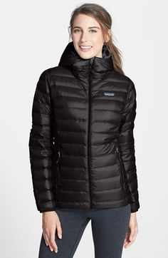 Patagonia Down Sweater Hoodie available at #Nordstrom