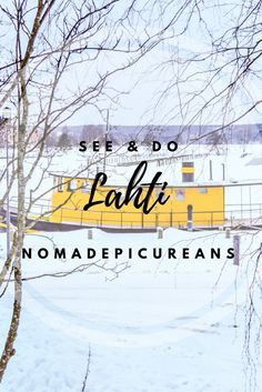 Learn what to see & do in Lahti, Finland.