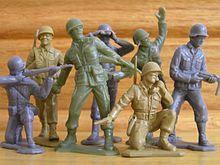 Sweet army men playing around