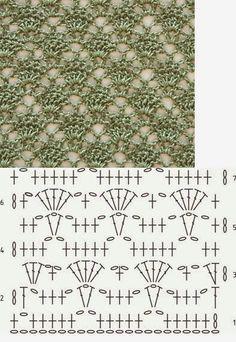 20 Patrones de Puntos Crochet Calados ~ Patrones para Crochet ☂ᙓᖇᗴᔕᗩ ᖇᙓᔕ☂ᙓᘐᘎᓮ http://www.pinterest.com/teretegui                                                                                                                                                                                 Más