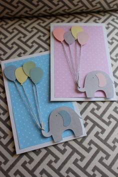 This adorable hand-made card is perfect for an expecting mother, a new baby in…