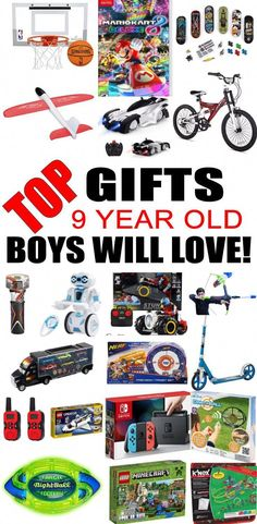 Top Gifts For 9 Year Old Boys Best Gift Suggestions Presents Ninth Birthday Or Christmas Find The Toys A Bday