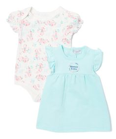 Another great find on #zulily! Blue Mermaid French Terry Jumper & Bodysuit Set - Infant #zulilyfinds