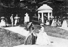 Saratoga Springs (ca. 1880) the Grecian temple portico was de rigeur in this period- like Mt Storm's.