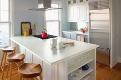 White Formica Laminate Counter   White Kitchen Pictures