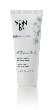 VITAL DEFENSE (AM/PM) (MOISTURIZERS) Defend your skin with this vitamin-enriched day cream that protects the skin from aging, environmental pollution, and free radical damage to help it recover its original radiance, softness, and vitality. Finely textured with a vitalizing citrus scent, this fast absorbing treatment is perfect for dull skin and for those who work outside or are constantly active. Intensely hydrating and repairing, it is good for all skin types. #skincare #beauty