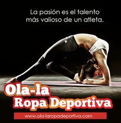 Todo objetivo debe de estar lleno de pasión, ella es la que enciende esa llama en tu interior que te lleva a vencer tus propios obstáculos.  http://www.ola-laropadeportiva.com/  #Pasión #Talento #Fitnnes #Crossfitness #Colombia #Ropadeportiva