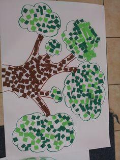 "Tu Bishvat- trees's Birthday- ט""ו בשבט Preschool Education, Art Education, Preschool Activities, Fall Crafts, Holiday Crafts, Crafts For Kids, Diy With Kids, Jewish Festivals, Airplane Crafts"