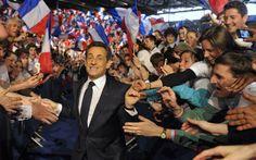 Les meetings de Nicolas Sarkozy.