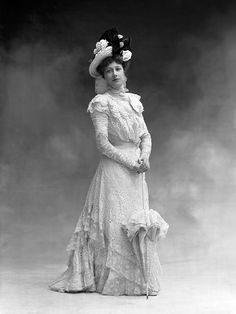 Liane de Pougy, a great courtesan at the beginning of the 20th century