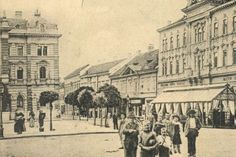 The Main square Novi Sad, Once Upon A Time, Old Photos, Maine, Louvre, Travel, Trips, Old Pictures, Viajes