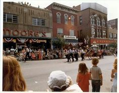 Guernsey County 175th Anniversary parade, 1973.